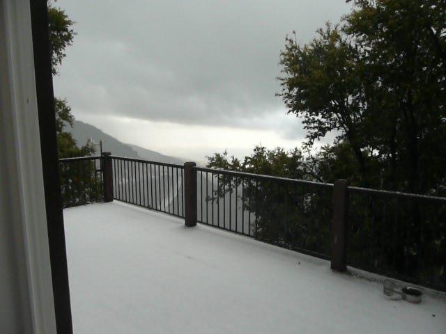 May Hail and Snow Storm 2010